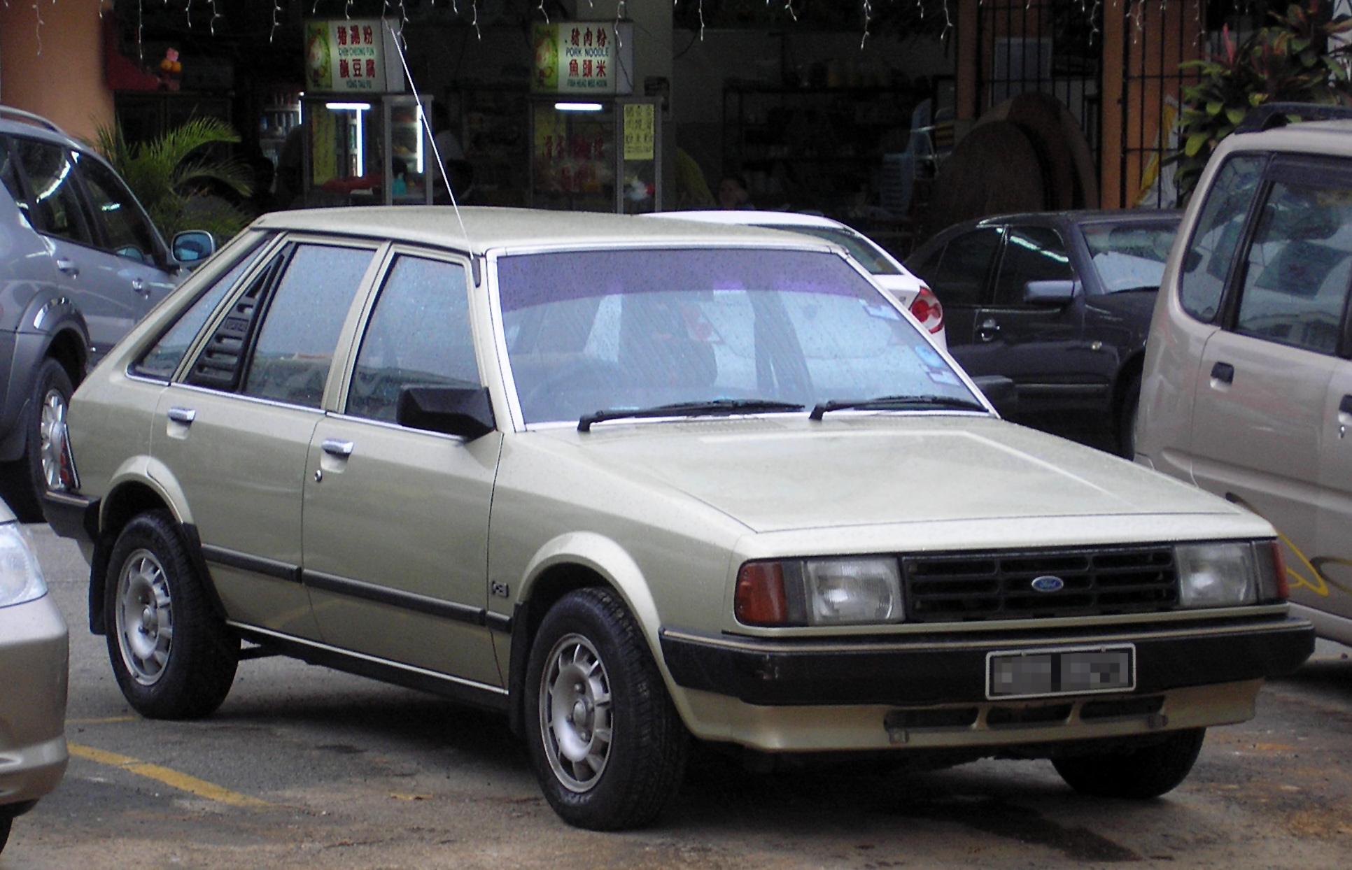 File Ford Laser First Generation Front Serdang Jpg