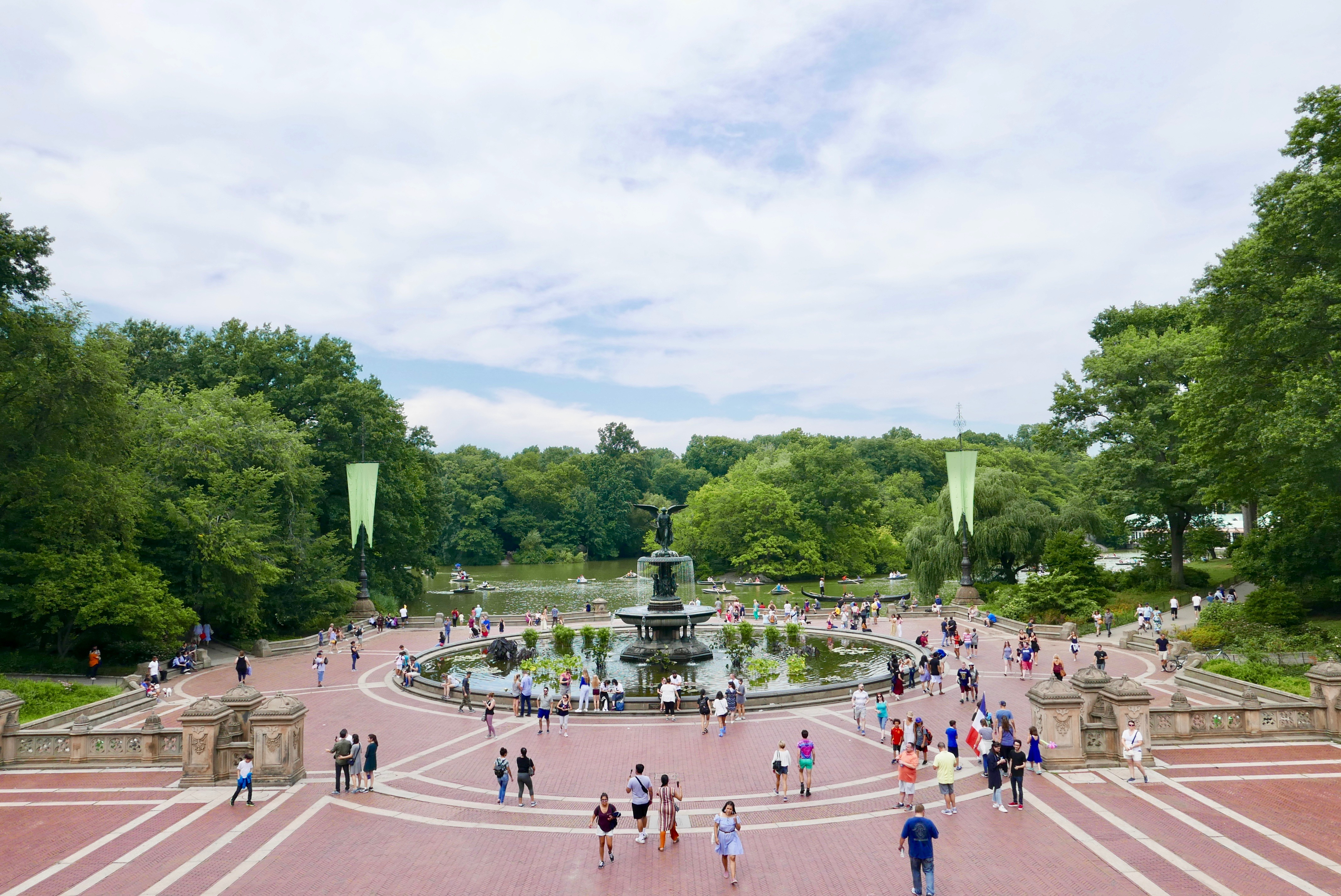 File Fountain In Central Park New York City Jpg Wikimedia Commons