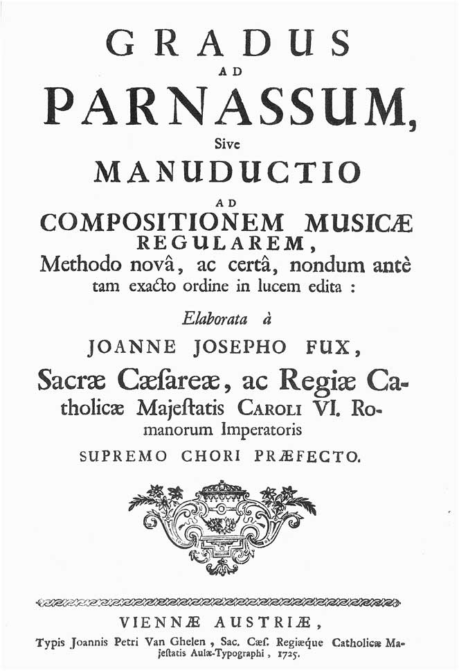 Johann fux gradus ad parnassum pdf editor