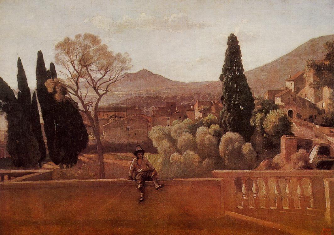 File:Gardens of the Villa d\'Este at Tivoli.jpg - Wikimedia Commons