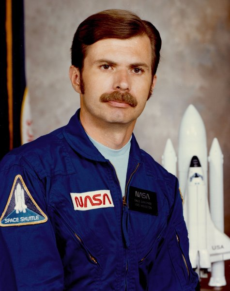 Astronaut Dale Gardner, NASA photo Source: Wikipedia (www.jsc.nasa.gov unavailable November 2019) Gardner-d.jpg
