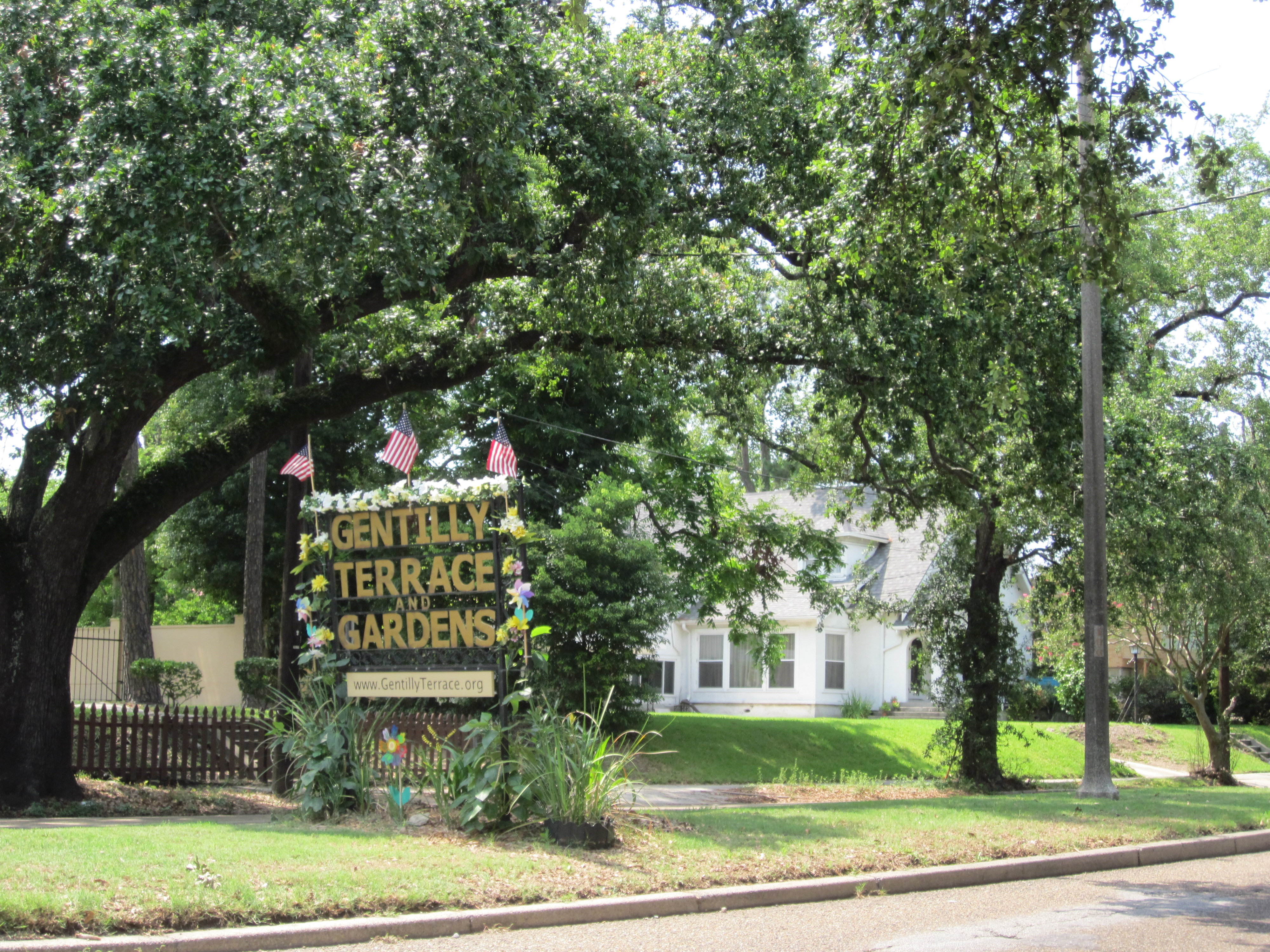 Gentilly Terrace and Gardens New Orleans