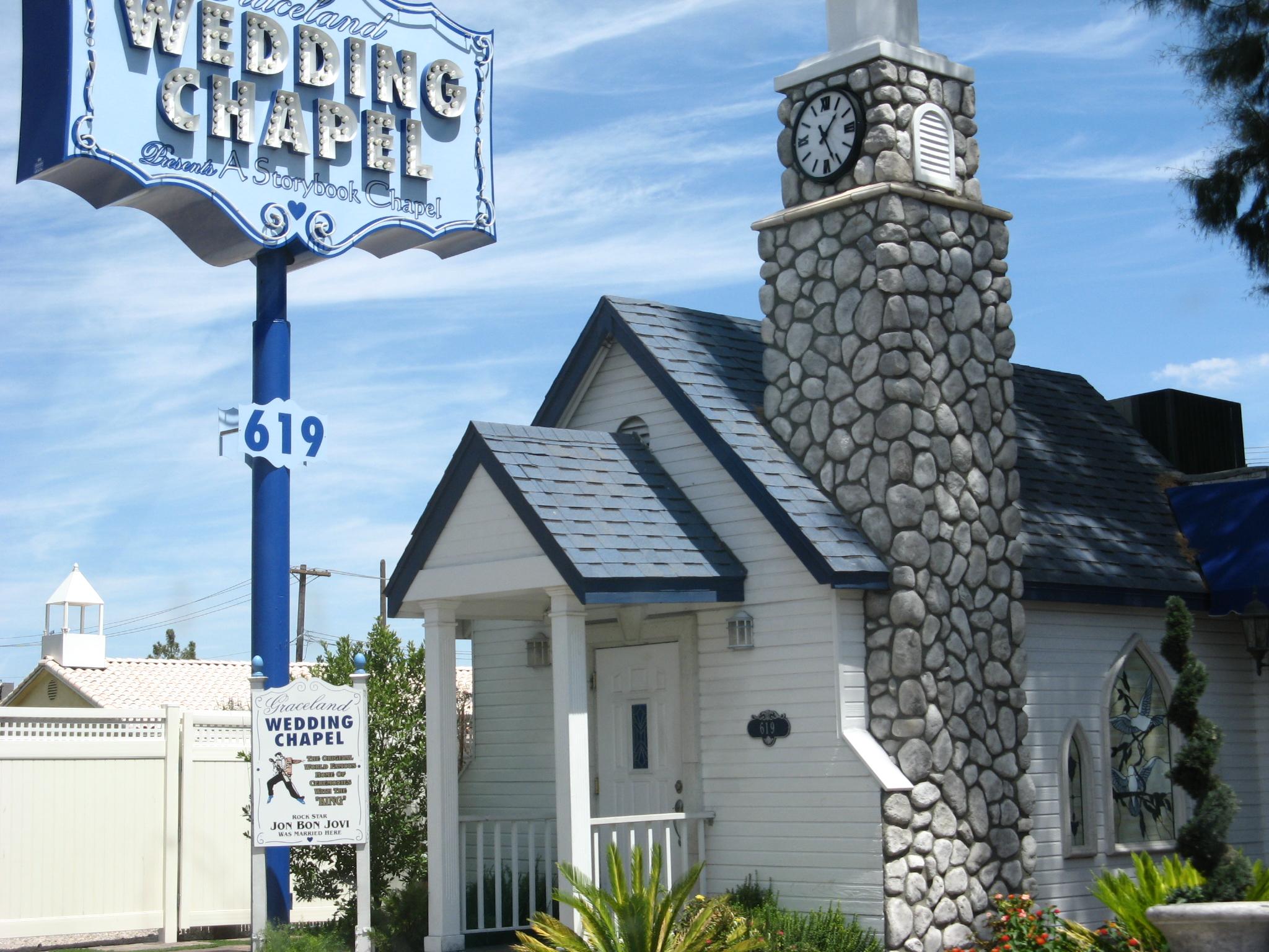 The Chapel As Seen In 2007 Graceland Wedding Is A