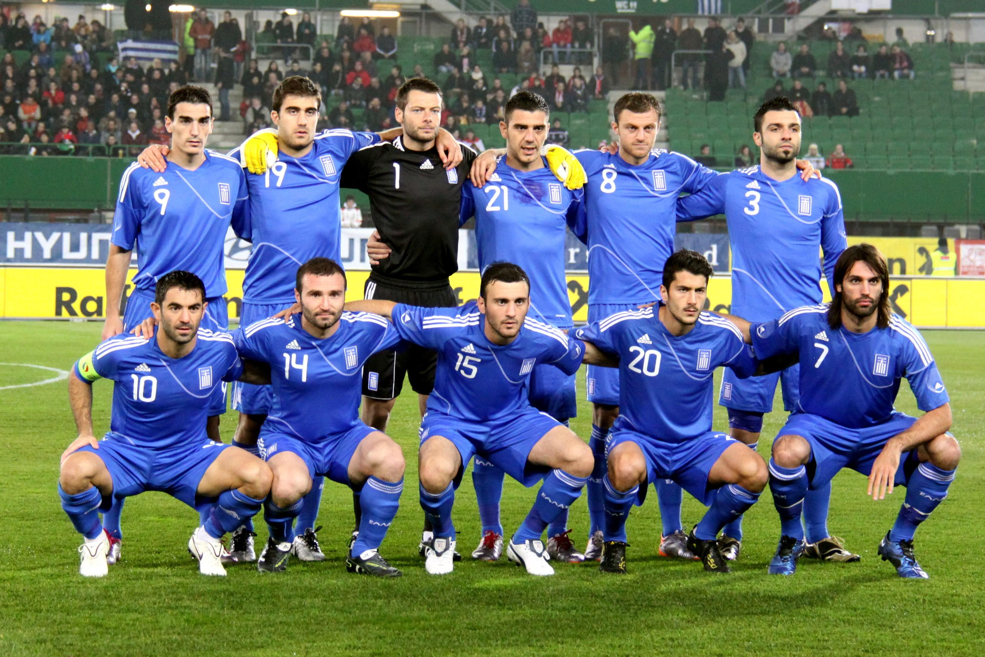 Kết quả hình ảnh cho bóng đá nước Hy Lạp