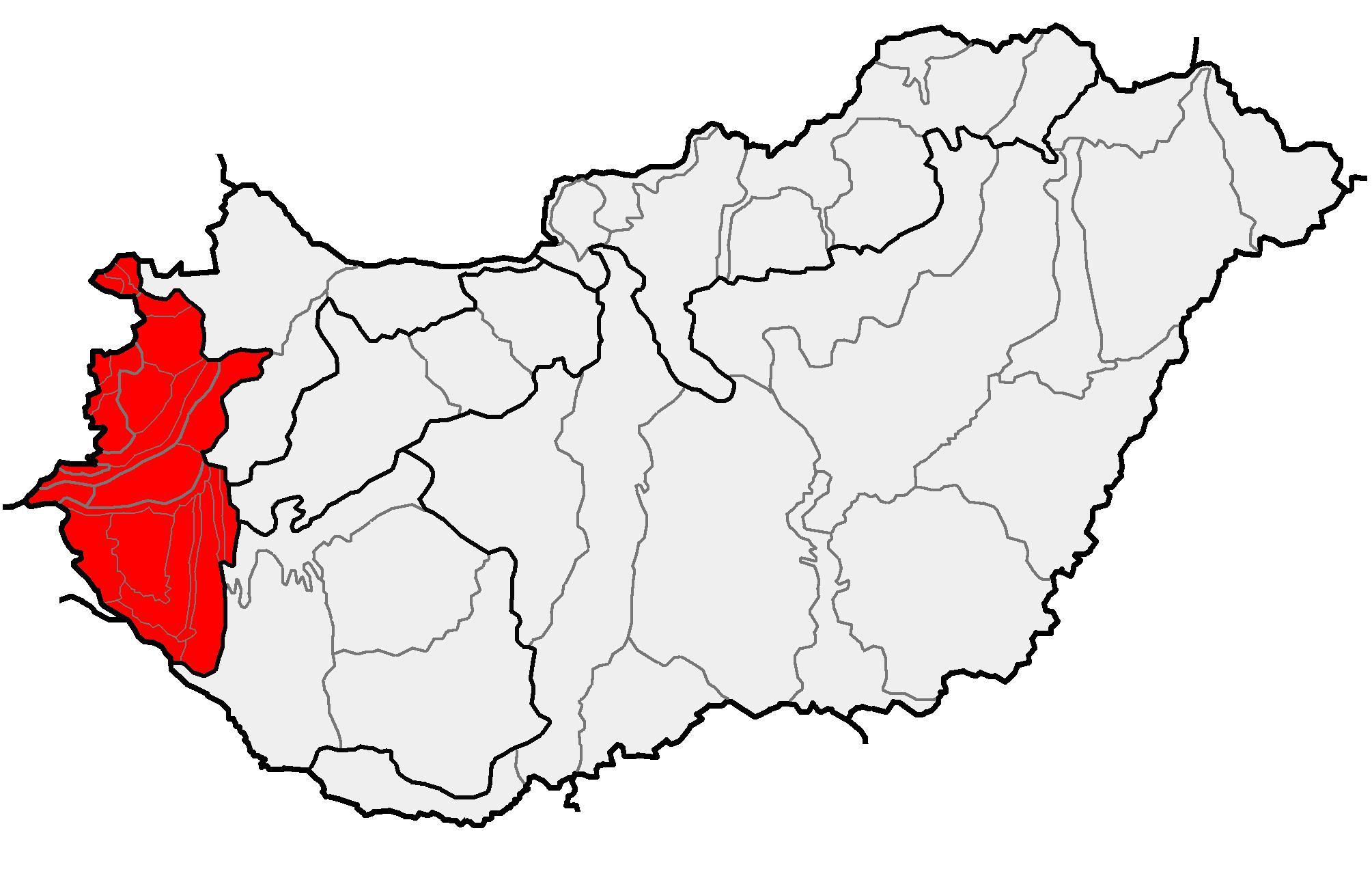 b3c02cdebf A Nyugat-magyarországi-peremvidék fekvése Magyarországon