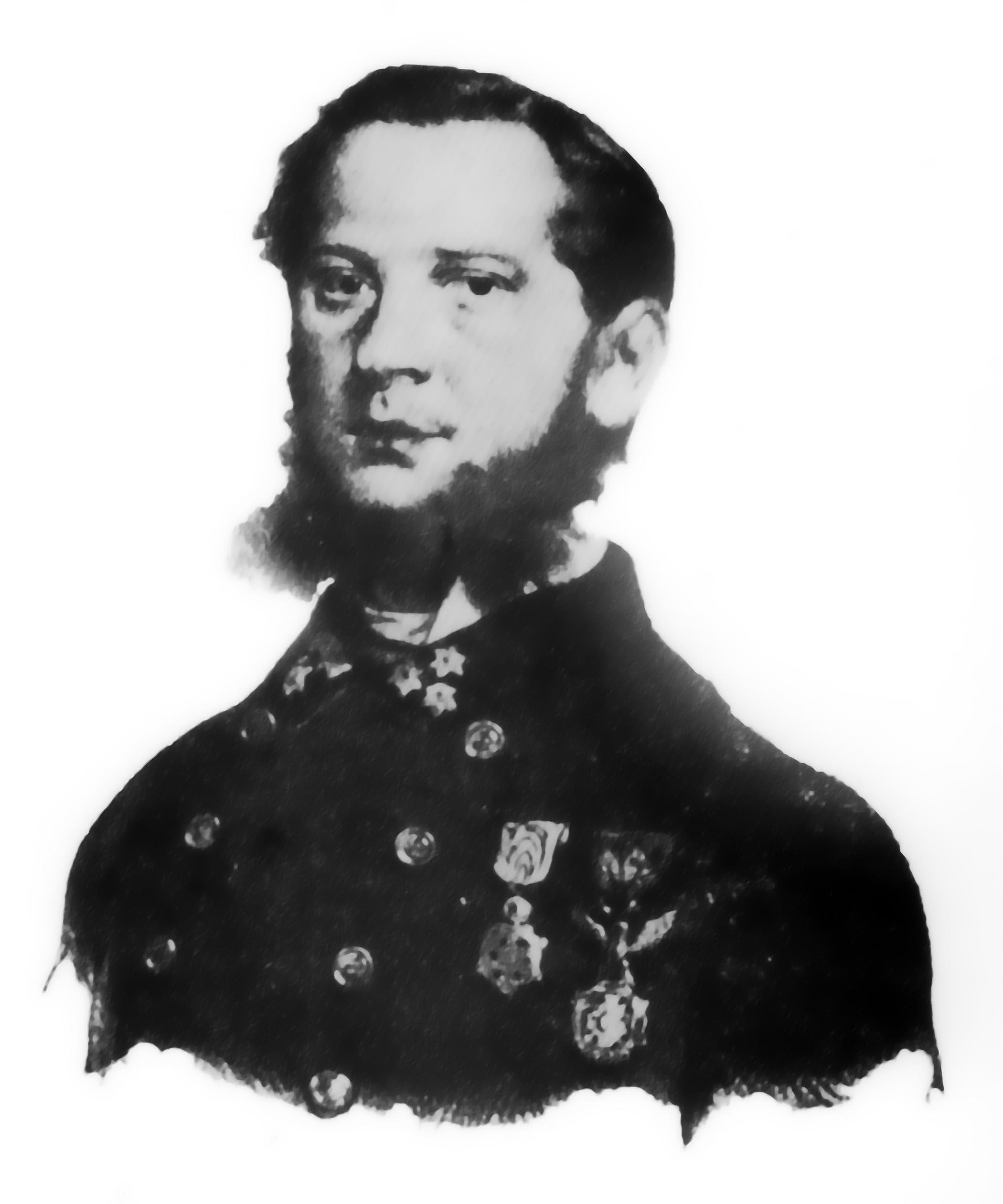 Depiction of Heinrich Wawra von Fernsee