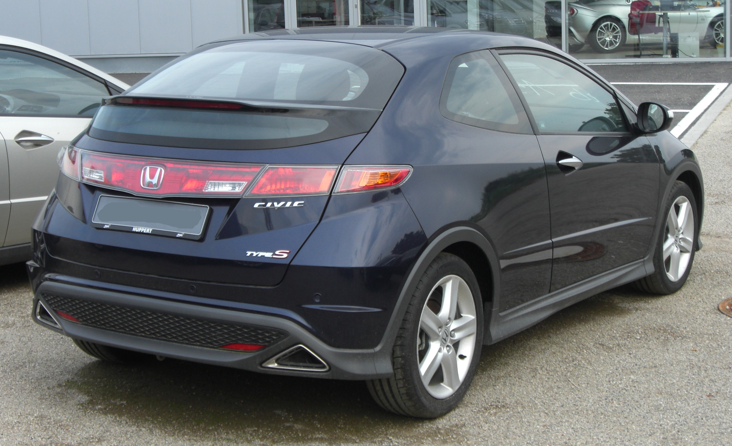 File Honda Civic Type S 8 Generation Rear Jpg