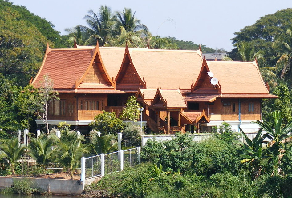 File House Thai Style In Wikimedia Commons