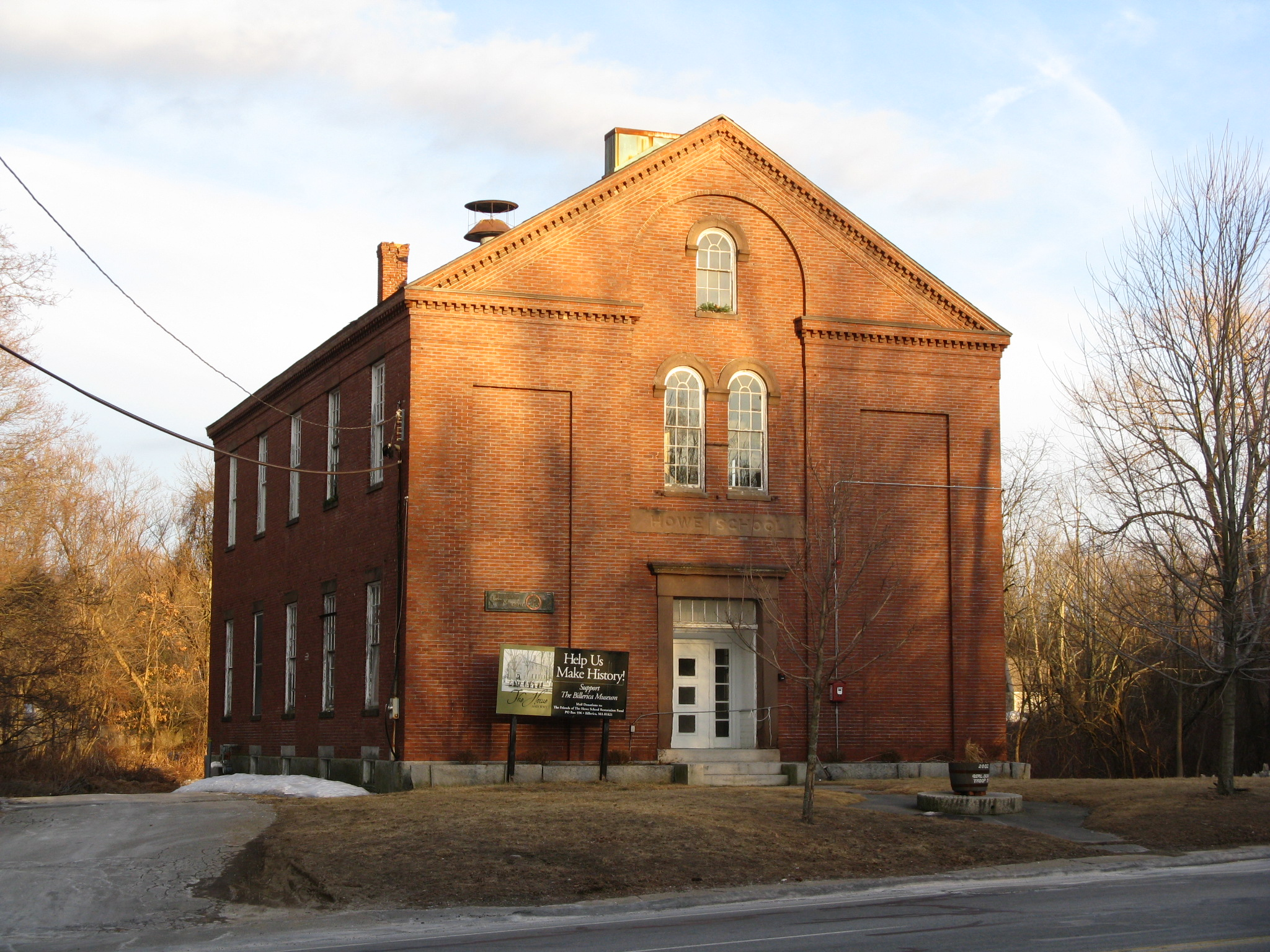 Billerica (MA) United States  city pictures gallery : Howe School, Billerica MA Wikipedia