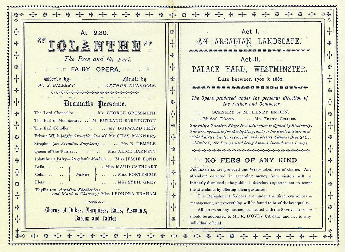 Gilbert & Sullivan - The Best Loved Melodies Of Gilbert & Sullivan