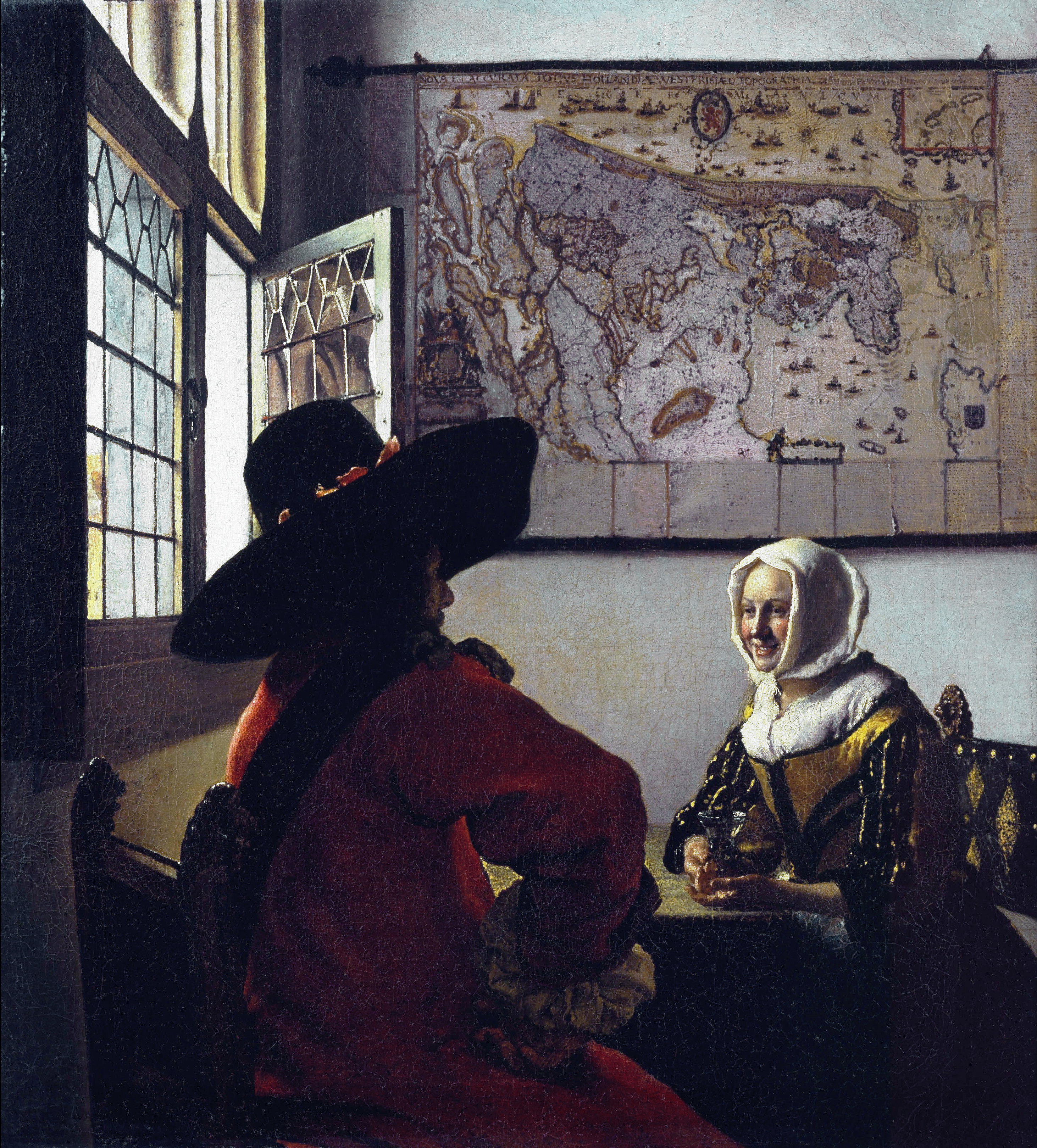 johannes vermeer Johannes vermeer was a dutch painter who specialized in domestic interior  scenes of middle-class life he was a moderately successful provincial genre.