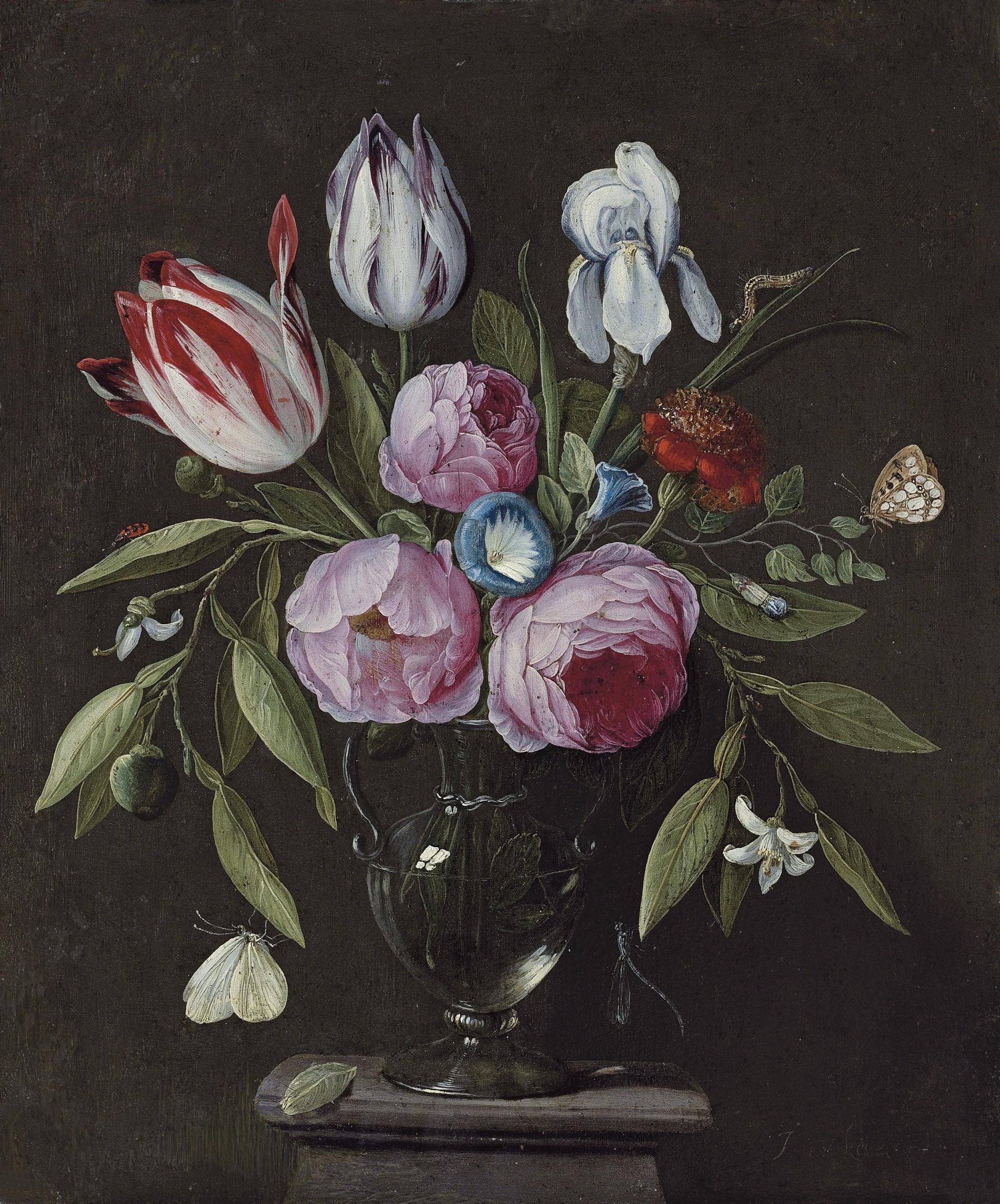 https://upload.wikimedia.org/wikipedia/commons/0/03/Jan_van_Kessel_de_Oude_-_Rozen%2C_tulpen%2C_een_iris_en_andere_bloemen_etc.jpg