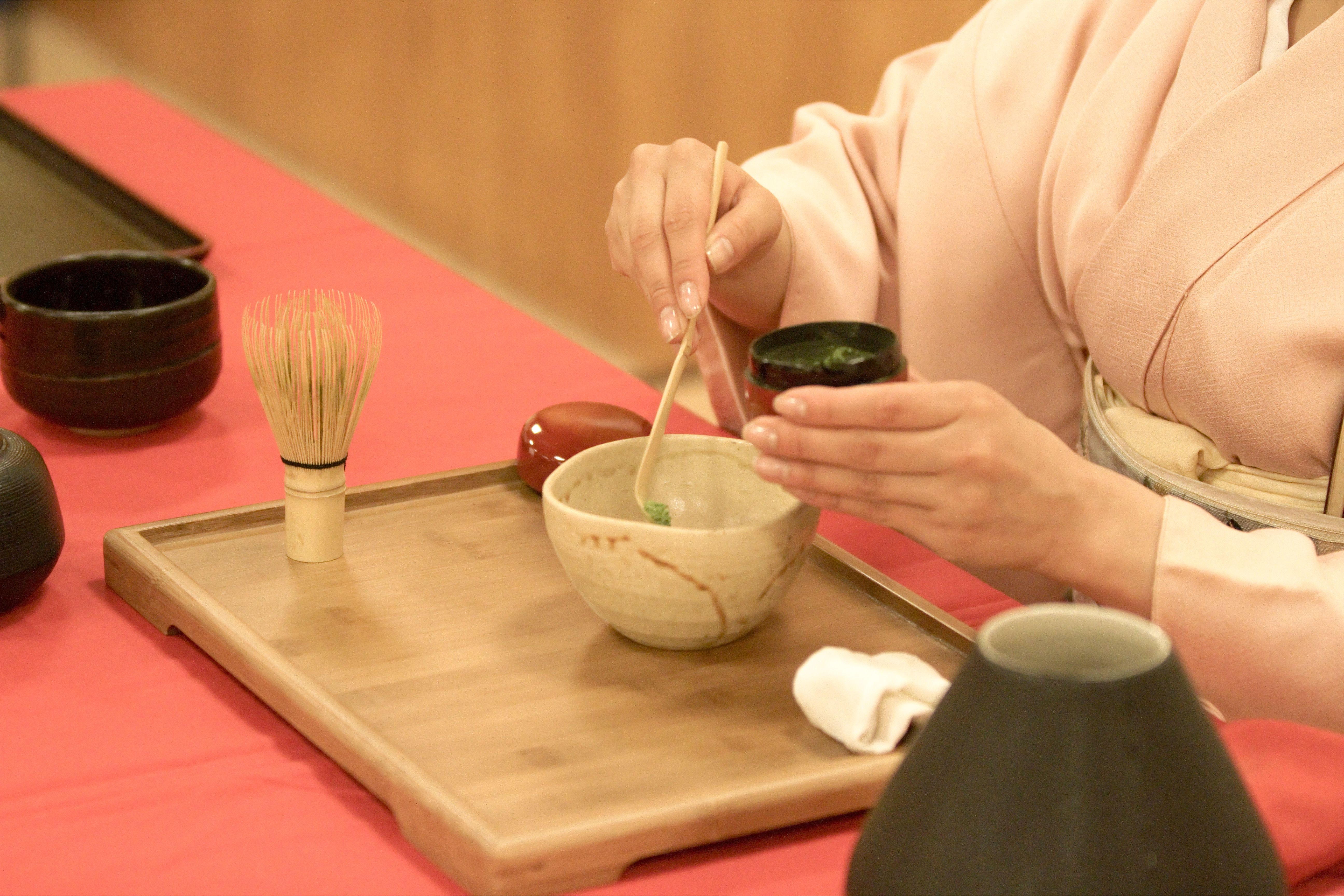 japanese tea ceremony As featured on presented at the hotel okura in tokyo.