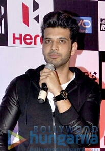 Karan Kundra at the launch of Roadies X2.jpg