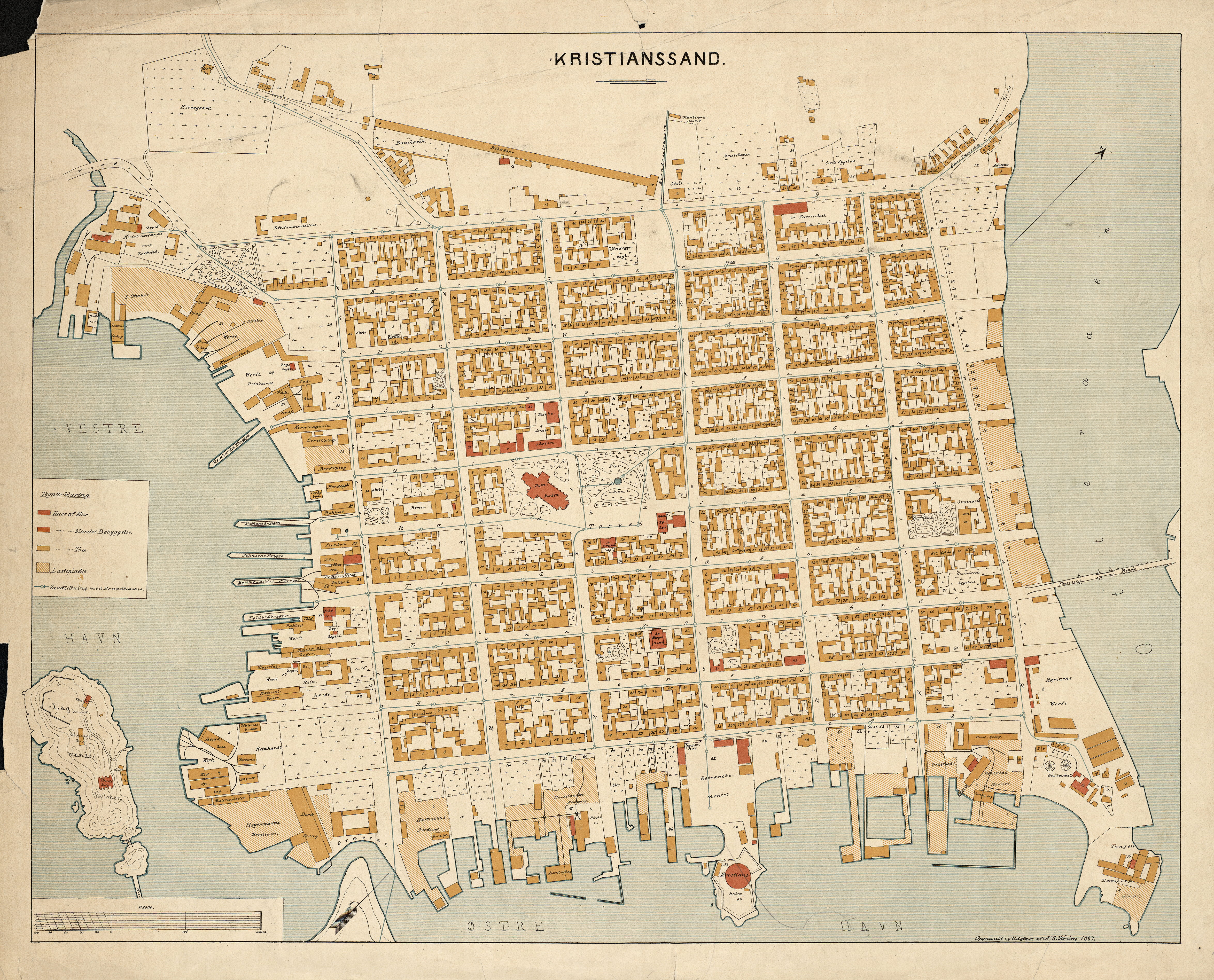 oslo kristiansand kart Fil:Kart over Kristiansand (1887). – Wikipedia oslo kristiansand kart