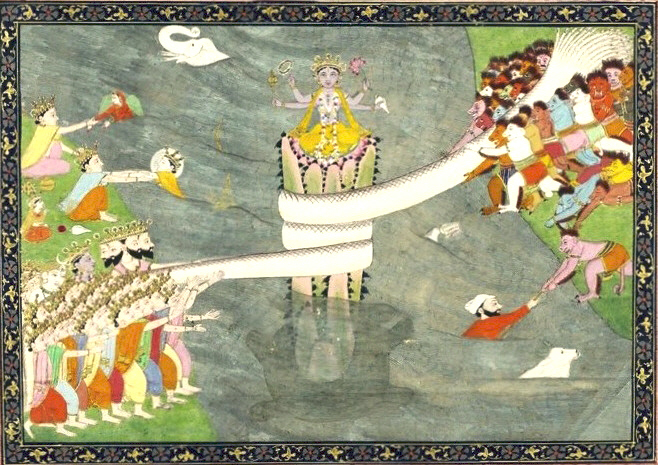 A welcome to the Powers That Be Kurma_Avatar_of_Vishnu._ca_1870
