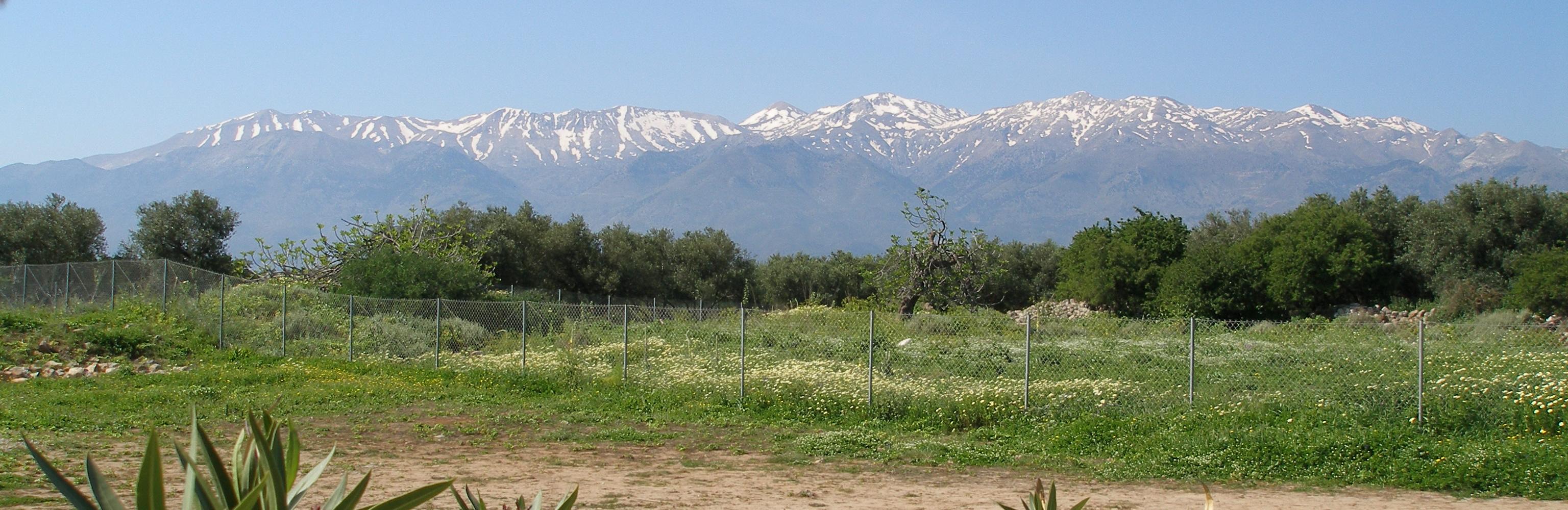 Λευκά Όρη, Κρήτη
