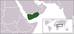Location of Iemen