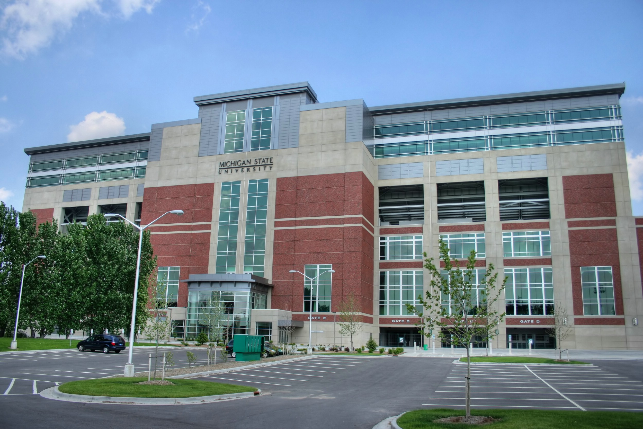 Description msu spartan stadium facade