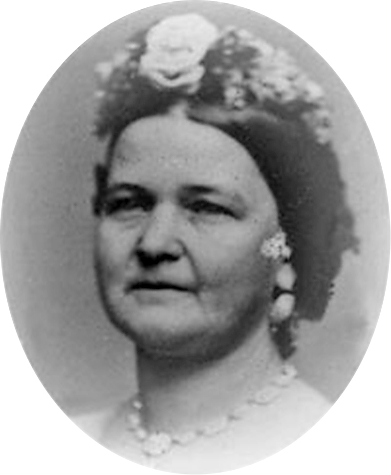 Portrait photograph of Mary Lincoln