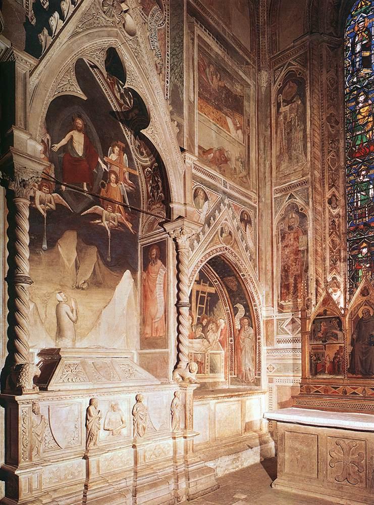 Maso di Banco - Tomb with fresco of the resurrection of a member of the Bardi family - WGA14228.jpg