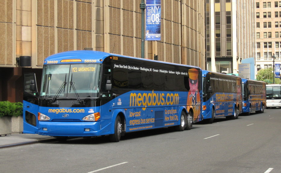 Megabus new york station facilities