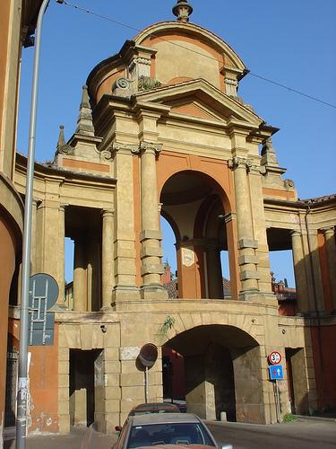 Arco Meloncello e Portico San Luca