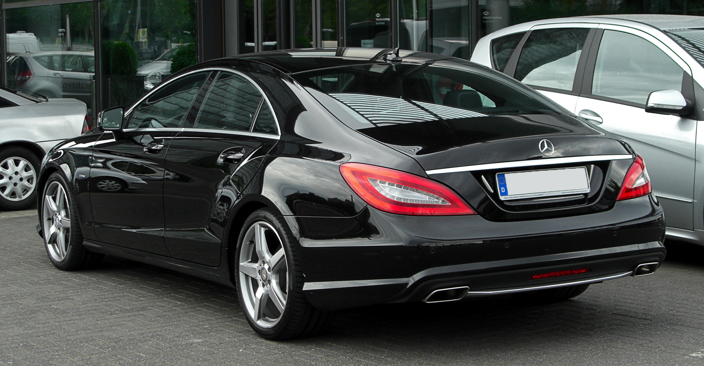 Fitxer mercedes benz cls 500 blueefficiency sport paket for Mercedes benz 640