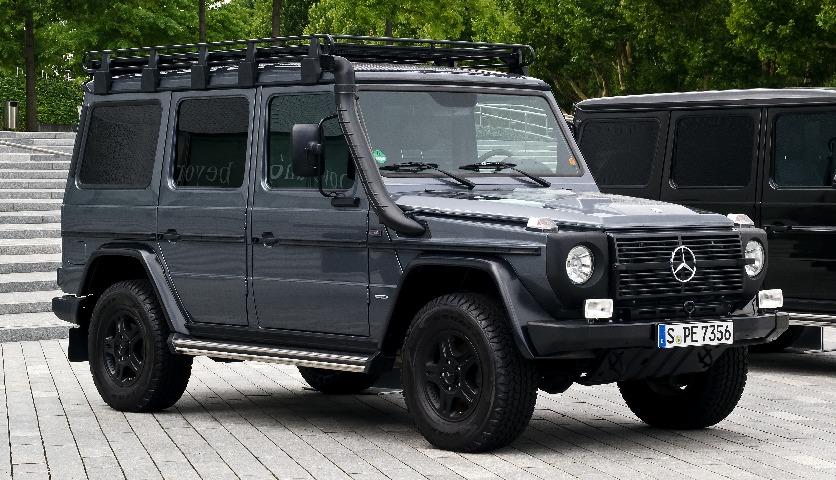 file mercedes benz g 300 cdi professional w 461 frontansicht 7 august 2012