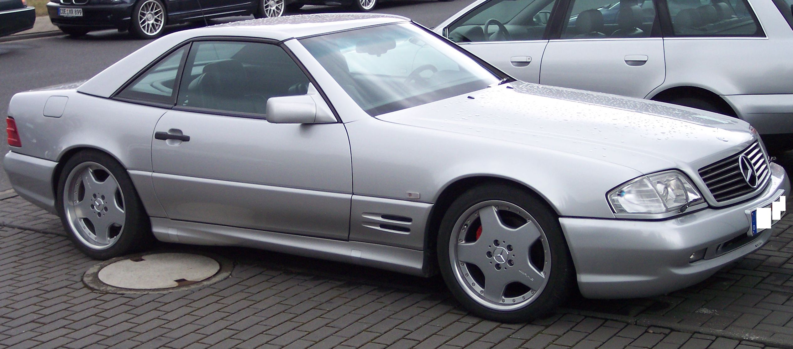 Mercedes benz r129 sl vr for Mercedes benz silver