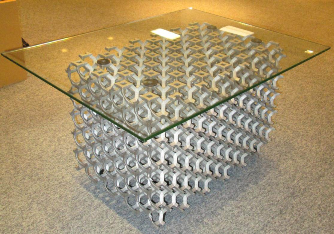 File:Metal foam Coffee table.jpg - Wikimedia Commons