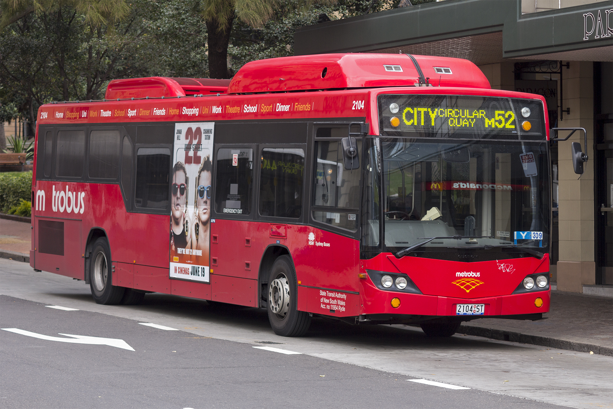 File Metrobus Liveried 2104 St Operated By Sydney Buses