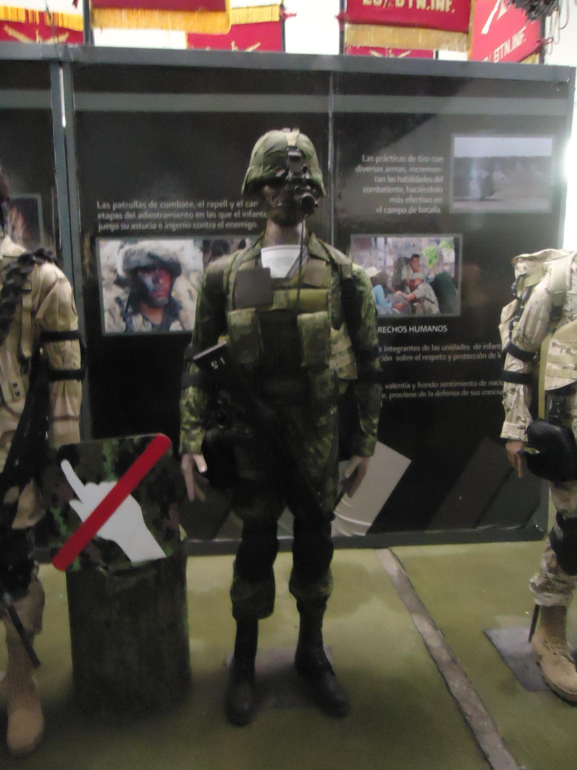 Modernización en ramas terrestres, áreas  y navales, ¿dónde queda la infantería?  Mexican_Army