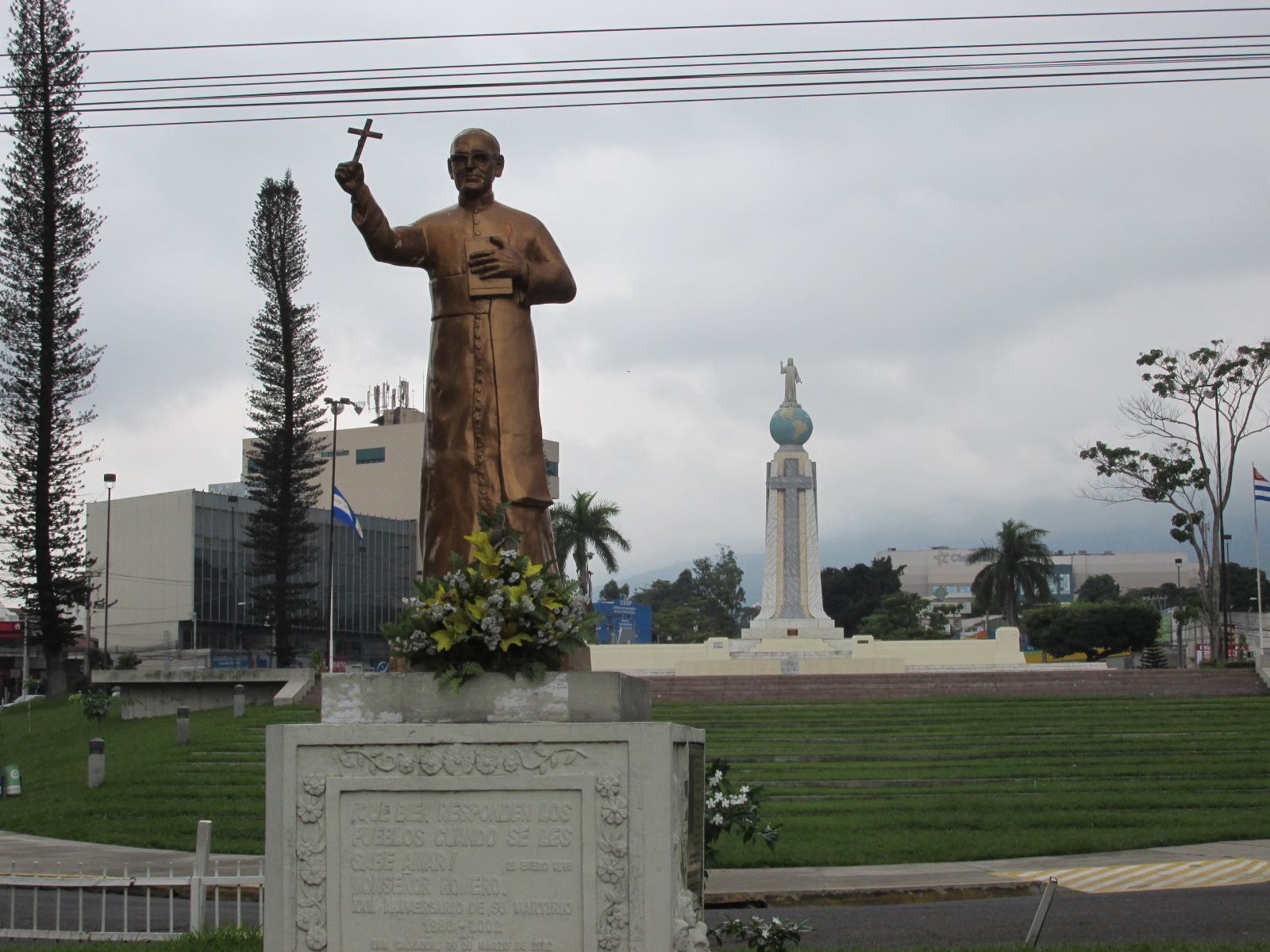 Visa policy of El Salvador moreover Our Lady Of Fatima likewise El salvador international airport moreover 143810 Carles Francino besides Worth Revisiting Oscar Romero Prophet Of Hope. on monsenor romero wikipedia