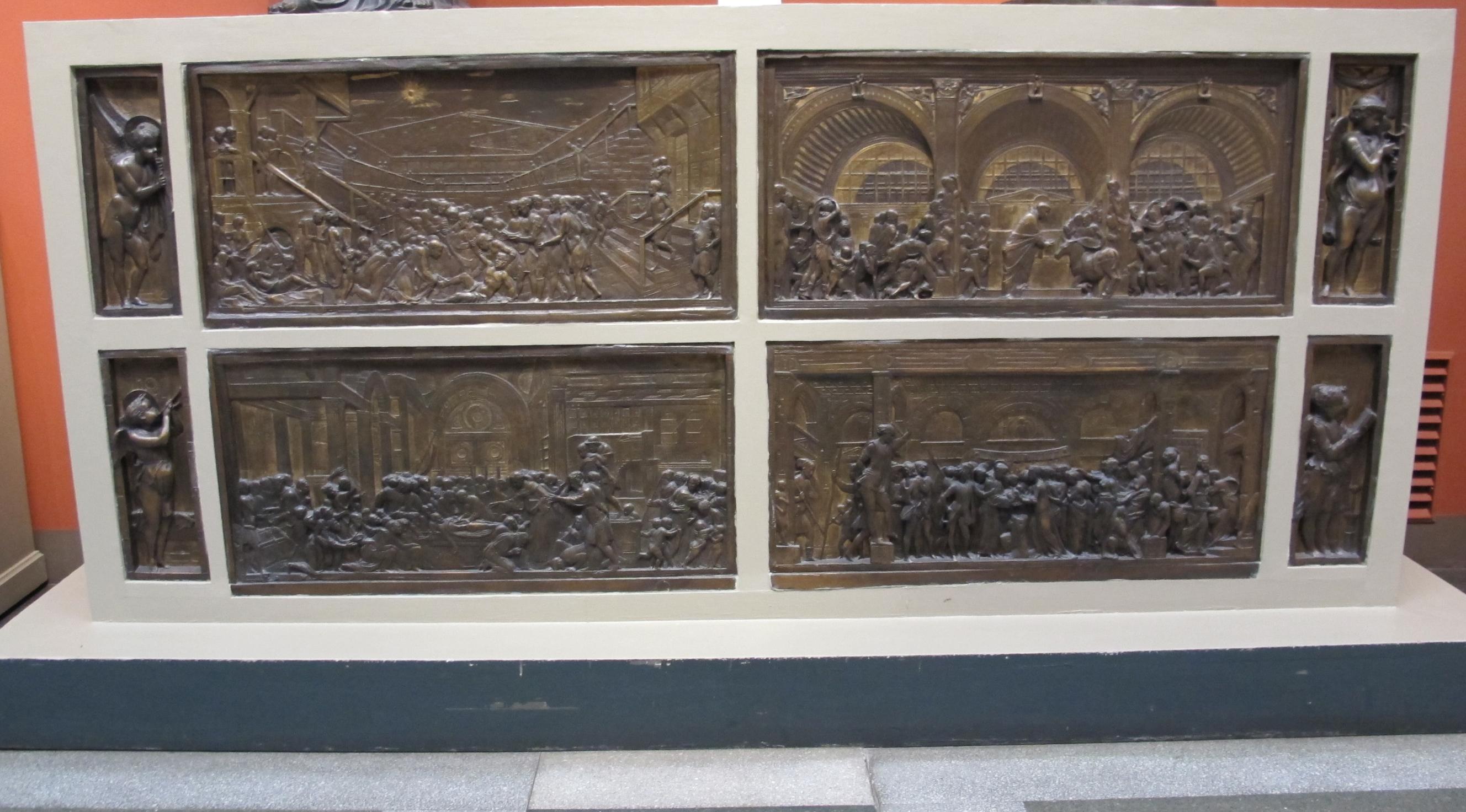 File:Museo pushkin, calchi, donatello, altare del santo 01 ...