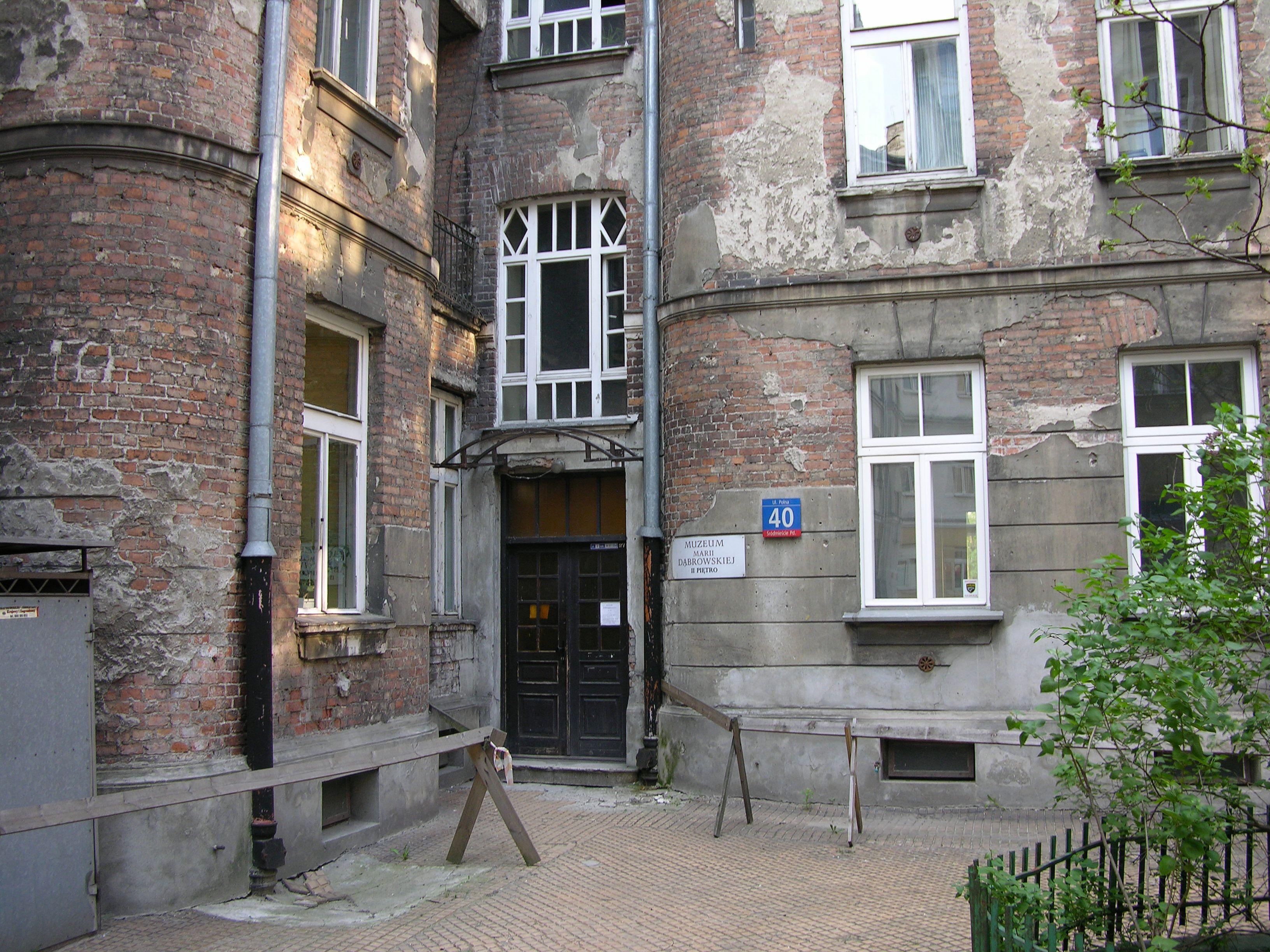 Muzeum Marii Dąbrowskiej w Warszawie 02.JPG