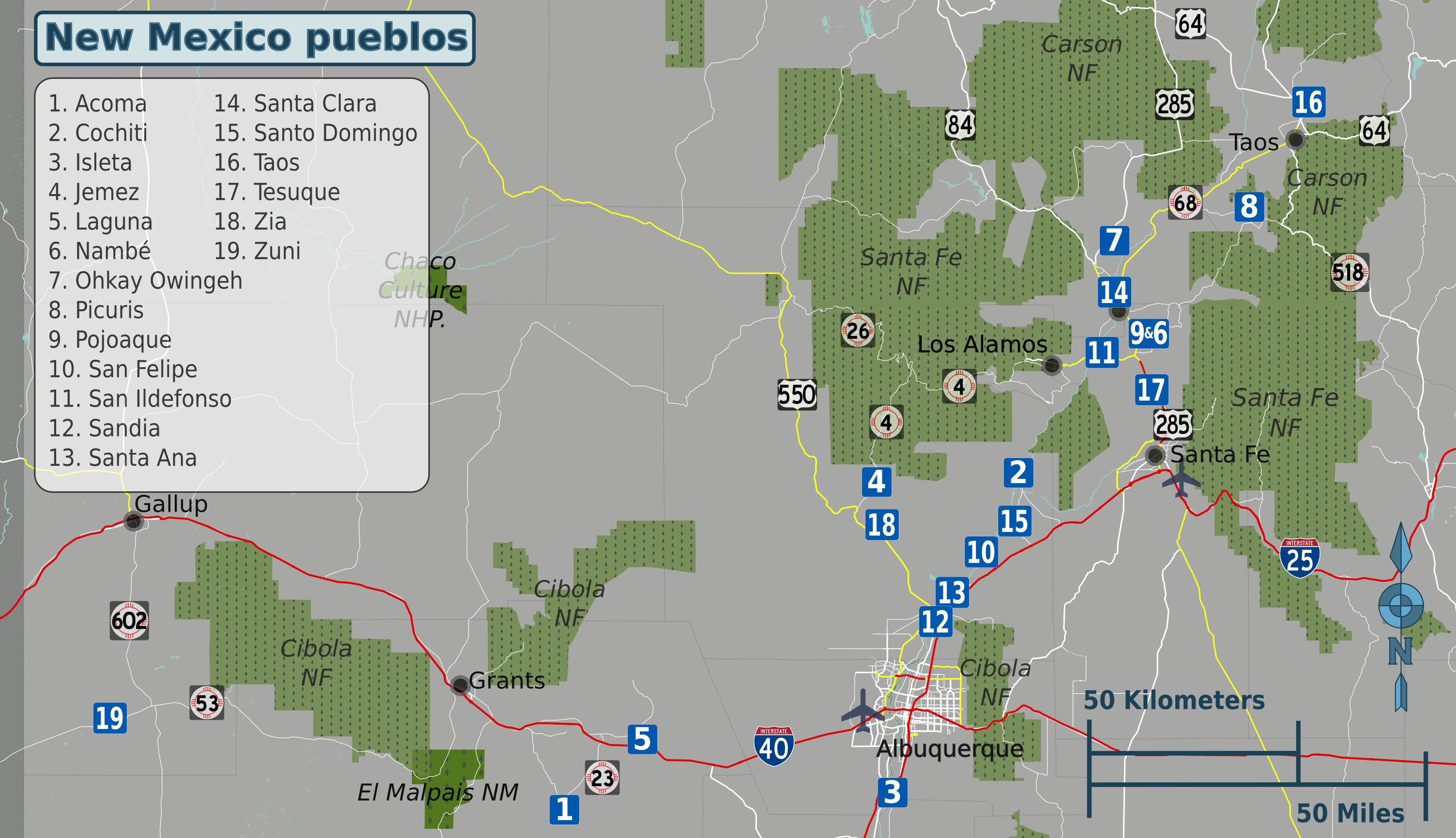 Pueblos New Mexico Map.File New Mexico Pueblos Map Png Wikimedia Commons