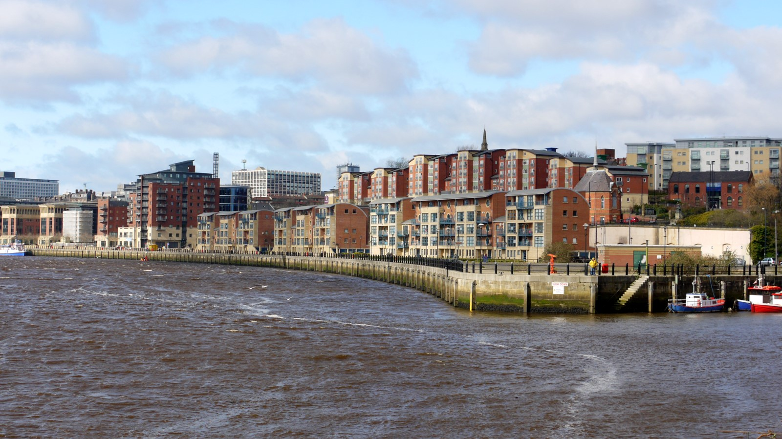 File:Newcastle Quayside west of Ouseburn - geograph.org.uk ...