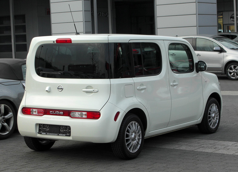File Nissan Cube Z12 Heckansicht 12 M 228 Rz 2011