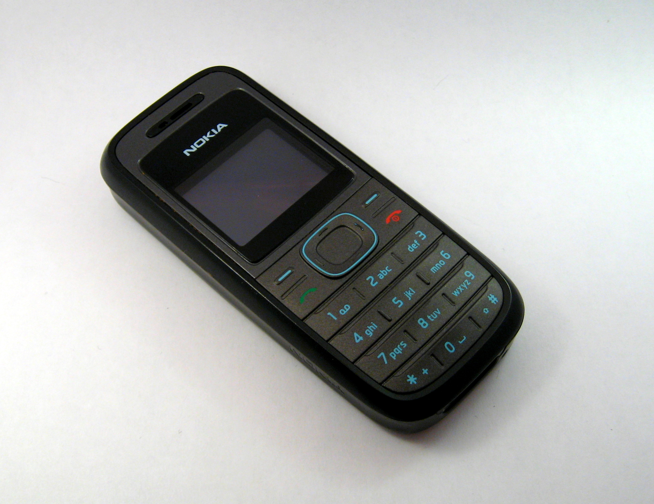 Filenokia 1208 Ubt Wikimedia Commons Nokia Cell Phone