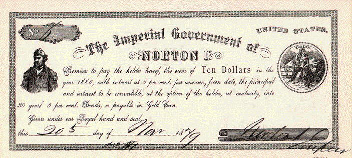 Imperial Dollar of Norton I