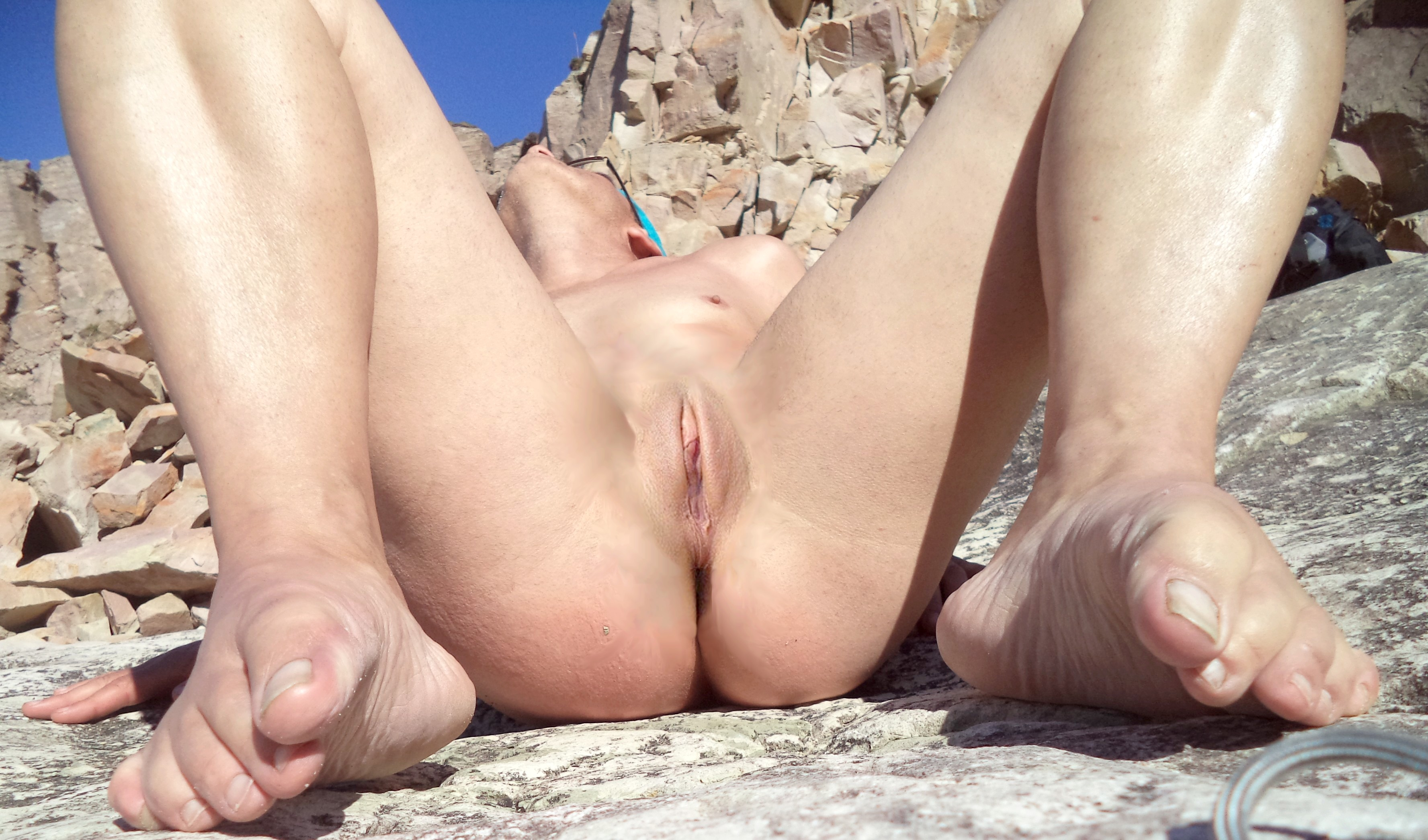 Interracial group nude sunbathing pictures