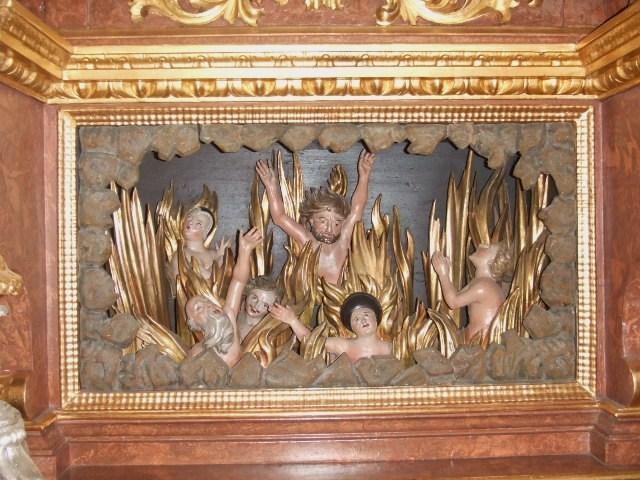 Oberthingau St Stephan Feuer