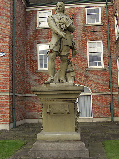 Statue Of Oliver Cromwell Warrington Wikipedia