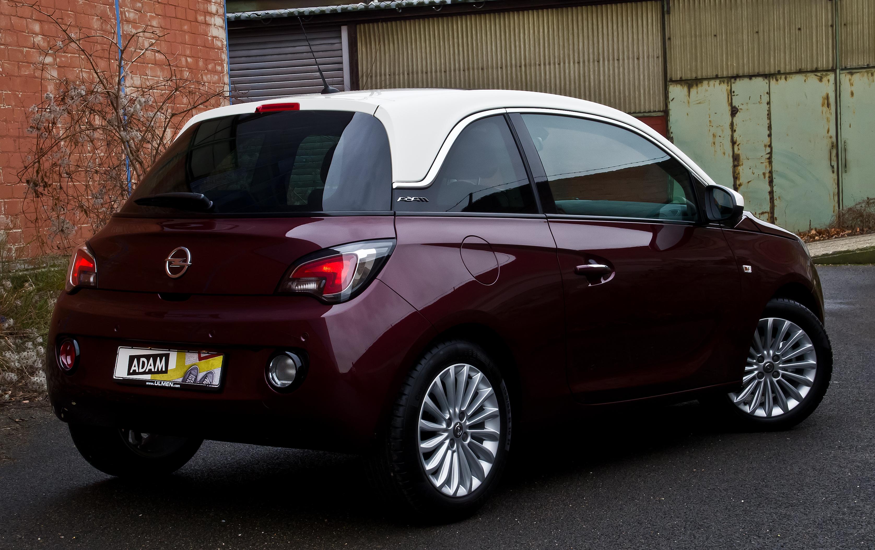 File Opel Adam 1 4 Glam Heckansicht 15 Januar 2014