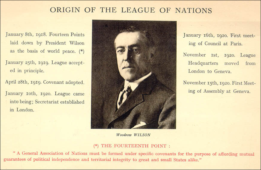 on balance the league of nations Wilson's vision and the league of nations debate was developed by the choices for the 21st century education program with  maintain the balance of power on the conti-nent and keep the peace, the combination of the alliance system and heightened national-ism resulted in tragic consequences.