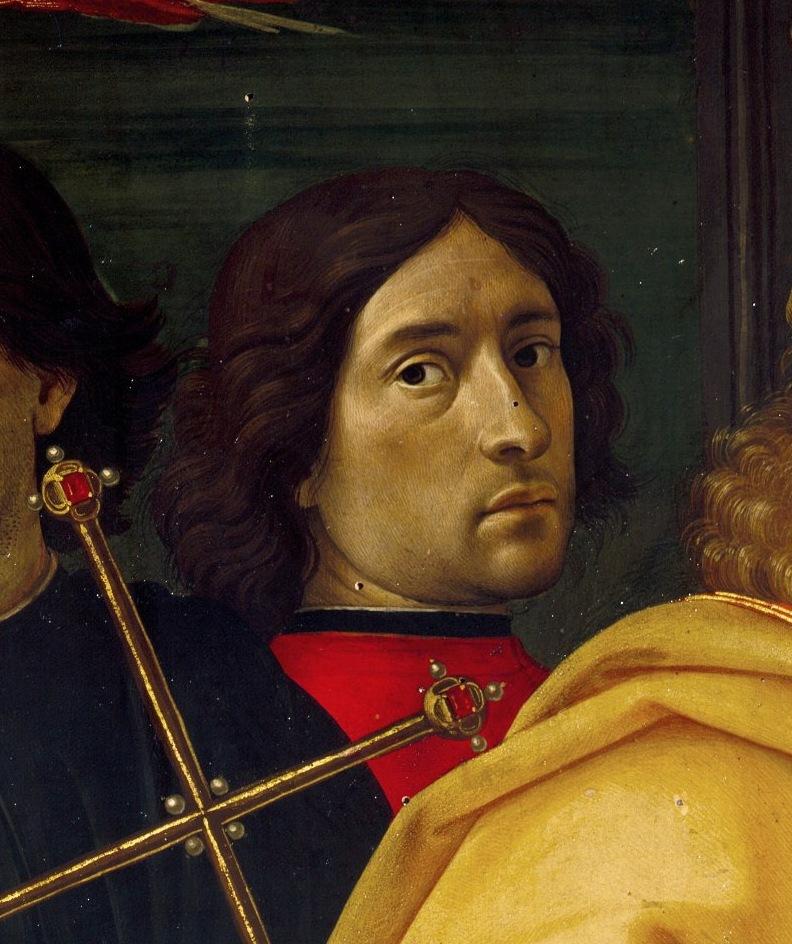Доменико Гирландайо, автопортрет