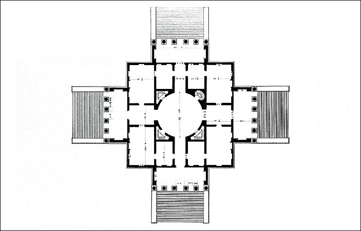 Villa Palladio Plan