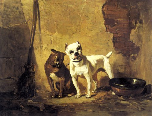 """Best of Friends"" / Philippe Rousseau / 1887"