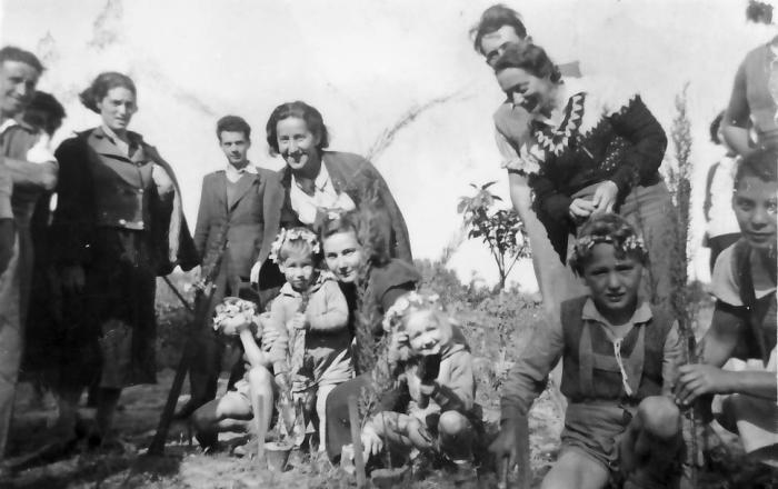 גן-שמואל -ט'ו בשבט 1938
